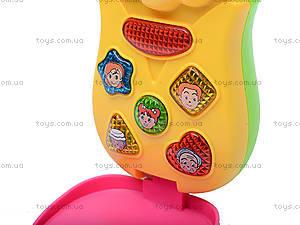 Развивающий мобильный телефон, 7306, детские игрушки