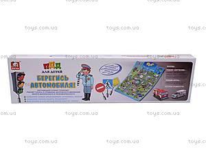Развивающий плакат «Берегись автомобиля», DO1000B