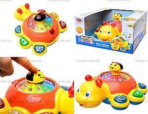 Детская развивающая игрушка «Божья коровка», 7454