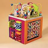 Развивающая деревянная игрушка «ЗОО-КУБ», BX1004X
