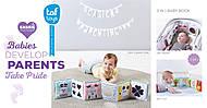 Развивающая книжка-раскладушка «Мышки-мартышки», 12025, фото