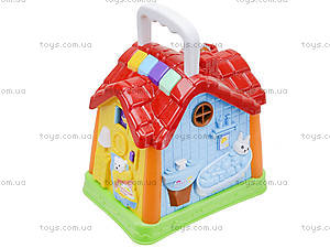 Развивающая музыкальная игрушка «Домик», 7530, фото