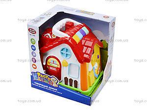 Развивающая музыкальная игрушка «Домик», 7530, іграшки