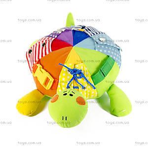 Развивающая мягкая игрушка «Черепаха Кармановна», ЧЕТ0, фото