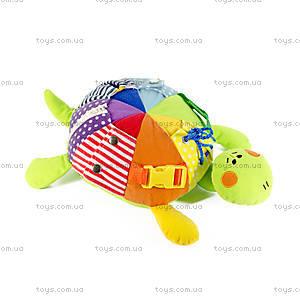 Развивающая мягкая игрушка «Черепаха Кармановна», ЧЕТ0, отзывы