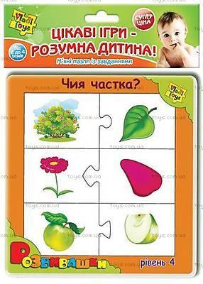 Развивающая игра «Чья половинка», VT1101-03