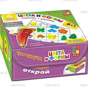 Развивающая игра «Цвета и формы», VT4207-17, toys.com.ua