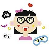 Развивающая игра goki «Забавные гримасы. Девочка», 58492G, отзывы