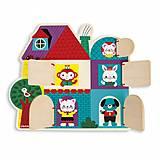 Развивающая игрушка Janod «Кто за дверью?», J08183, отзывы