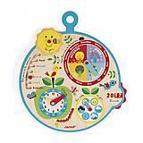 Развивающая игрушка «Календарь» английский язык, J09620, цена
