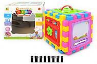 Развивающая игрушка «кубик-логика», BB321A, фото