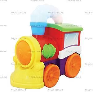 Развивающая игрушка «Музыкальный паровоз», 052357