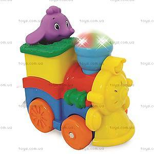 Развивающая игрушка «Паровозик слоника», 053462