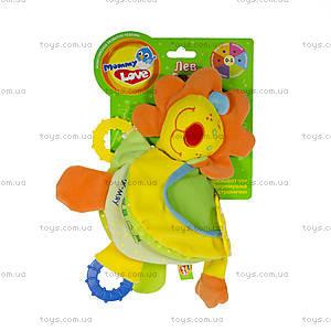 Развивающая игрушка-подвеска «Лев Роро», LKM0\M, фото