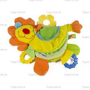 Развивающая игрушка-подвеска «Лев Роро», LKM0\M