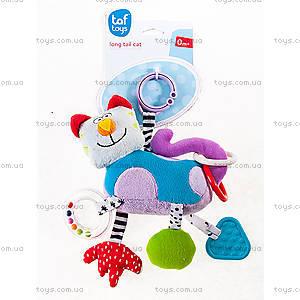 Развивающая игрушка-подвеска «Дружелюбный котик», 11705, фото