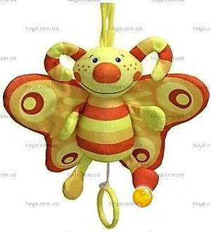 Развивающая игрушка-подвеска со звуковыми эффектами «Бабочка», ПКБ0\М, купить