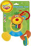 Развивающая игрушка-подвеска со звуковыми эффектами «Обезьянка Лулу», OBM0\M, магазин игрушек