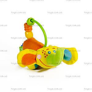 Развивающая игрушка-подвеска со звуковыми эффектами «Слоник Ники», SDM0\M, фото