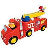 Развивающая игрушка «Пожарная машина», 043265, фото