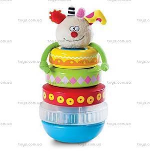 Развивающая игрушка для малышей «Пирамидка Куки», 11365, купить