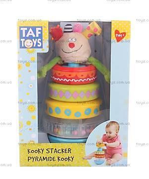 Развивающая игрушка для малышей «Пирамидка Куки», 11365