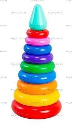 Развивающая игрушка «Пирамидка Люкс», 39104, купить
