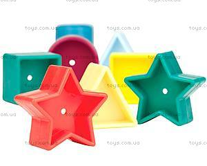 Развивающая игрушка-сортер «Цветное ведерце», BT2405Z, фото