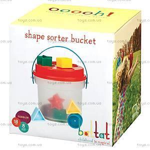 Развивающая игрушка-сортер «Цветное ведерце», BT2405Z, отзывы
