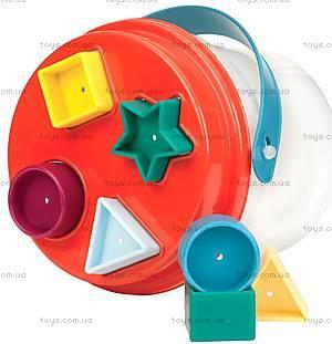 Развивающая игрушка-сортер «Цветное ведерце», BT2405Z, цена