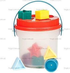 Развивающая игрушка-сортер «Цветное ведерце», BT2405Z