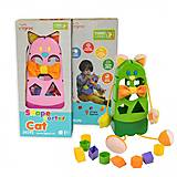 "Развивающая игрушка-сортер ""Котик"", 39290, игрушки"