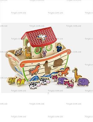 Развивающая игрушка-сортер «Ноев ковчег», 50345
