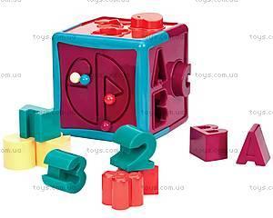Развивающая игрушка-сортер «Умный куб», BT2404Z