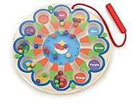 Развивающая игрушка Viga Toys Магнитный лабиринт «Часы», 59980, фото