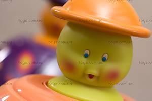 Развивающая игрушка «Юла-Мандаринка», BX1119Z, фото