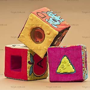 Развивающие мягкие кубики-сортеры, BX1147, цена