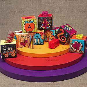 Развивающие мягкие кубики-сортеры, BX1147, магазин игрушек