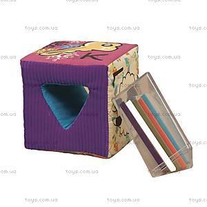 Развивающие мягкие кубики-сортеры «ABC», BX1368Z, фото