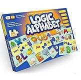 """Развивающие пазлы """"Logic Alphabet"""" англо-украинский, G-LoA-01-04U"""