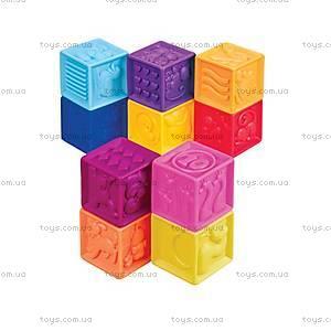 Развивающие силиконовые кубики «Посчитай-ка», BX1002Z