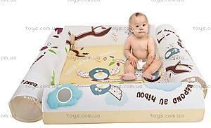 Развивающий коврик LUDI «Природа» с надувными бортиками, 2801, купить