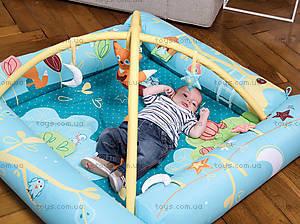 Развивающий коврик «Лиса» с надувными бортиками, 2810, купить