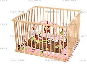 Развивающий коврик «Сова» с бортиками, розовый, 2875, отзывы