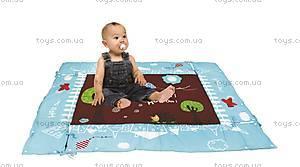 Развивающий коврик «Сова» с поднимающимися бортиками, 2873, фото