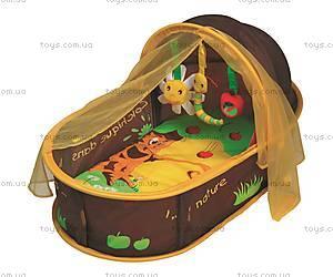 Развивающий манеж-кровать LUDI «Шоколад», 2808