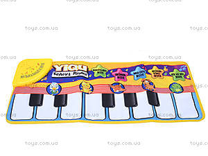 Развивающий музыкальный коврик «Пианино», YQ2976, игрушки