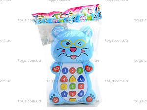 Детский телефон «Котик», 8302D, отзывы