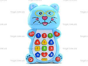 Детский телефон «Котик», 8302D, цена