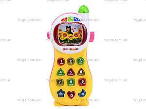 Развивающий телефон «Маша и Медведь», MM-701, детские игрушки